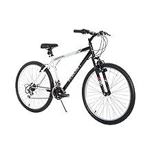 Dynacraft Men's 26-Inch 21 Speed Alpine Eagle Bike, 18.5-Inch/One Size, Black/White