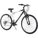 "Dynacraft Speed Alpine Eagle Mens Road/Mountain 21 Speed Bike 26"""", Black/White"