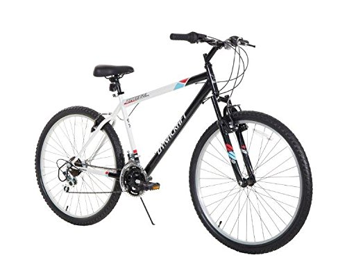 "Dynacraft Speed Alpine Eagle Mens Road/Mountain 21 Speed Bike 26"""", Black/White"