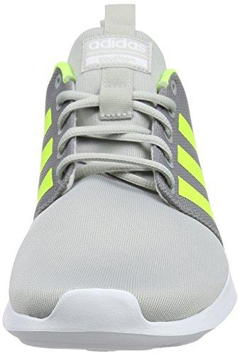 Adidas Herren Cloudfoam Swift Racer Gymnastikschuhe Grau (grigio Due / Giallo Solare / Bianco Calzature 0)