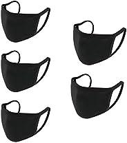 5 pcs Fashion Unisex Washable and Reusable Cotton Face Shield