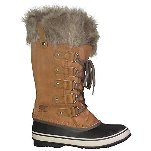 Sorel Joan of Arctic Fur Waterproof Suede Boot, 5.5, Brown from Sorel