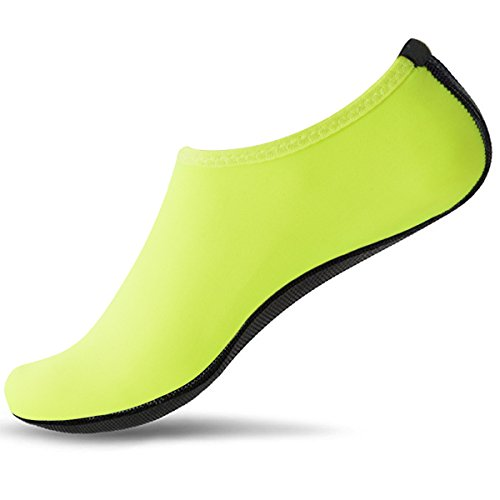 Breathable Unisex Water Socks Kids Yoga Shoes Beach For Boys Green On Girls Dry Adult surfing Women SUADEX Slip Quick Skin Swim Men Aqua Shoes Barefoot tUdqdwzx