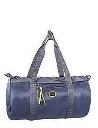 ELLE Grey Round Yoga Bag, Gray, International Carry-on