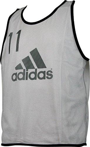 adidas (アディダス) フットボール ビブス(10枚セット) BDP75 1606 メンズ 紳士 B01H3BPYXG AI2016.ライトグラナイト Large