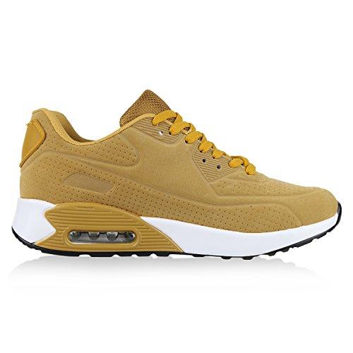 napoli-fashion , Chaussures de sport d'extérieur pour homme - marron - marron clair, 42 EU