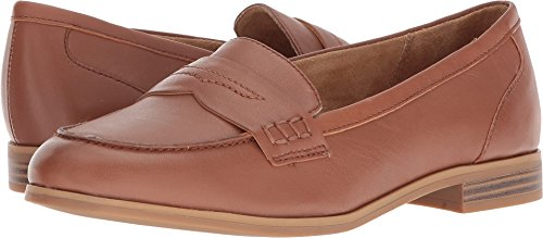 Naturalizer Women's Manners Saddle Tan Leather 9 M US