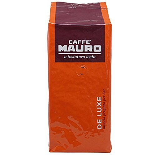 Mauro De Luxe Espresso (Deluxe) - Whole Bean Coffee, 2.2-Pound Bag (Packaging May Vary) (1pack)