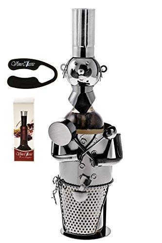 chef bottle stopper - 8