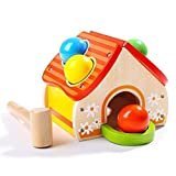 TOP BRIGHT Hammer Toy for 1 2 Year Old Boy and Girl Gifts Learning Wooden Montessori Toys for...