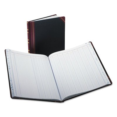 Columnar Accounting Book, 12 Column, Black Cover, 150 Pages, 10 1/8 x 12 1/4, Sold as 2 Each