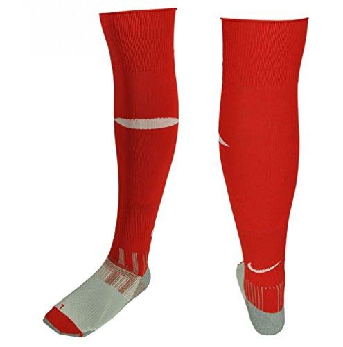 Nike Rfu Rugby Football unión Calcetines Medias rojo