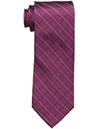 Men's Etched Windowpane B Tie