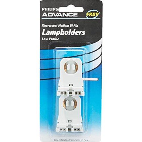 Philips Advance Fluorescent Slimline Spring Loaded Lamp Holders Item#125605 Model# FRSPSL UPC# 781087065273