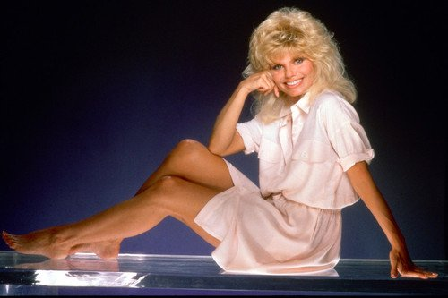 Loni anderson toes really. was