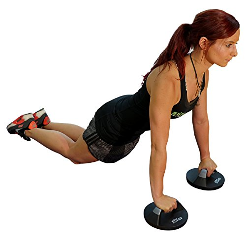 Elite Sportz Push Up Bar is Very Comfortable on the Hands and the Rotating Base Means You Will Feel Less Wrist Pain Than When Doing Normal Pushups. Very Sturdy and Won't Slide Around on You