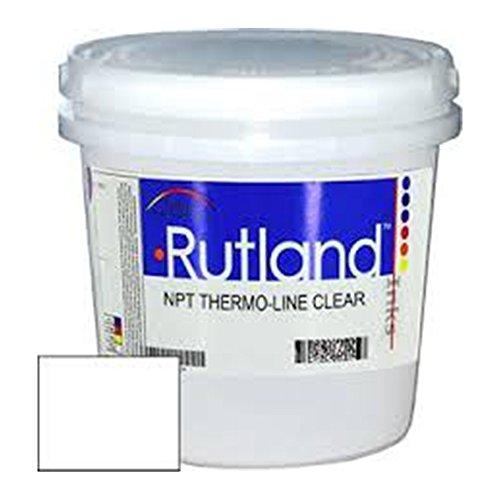RUTLAND Screen Printing Plastisol Inks ES0026 NPT THERM-O-LINE CLEAR (1 QT)