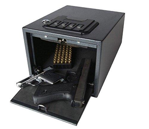MAGNUM 53538 Quick-Access Alarming Pistol Safe