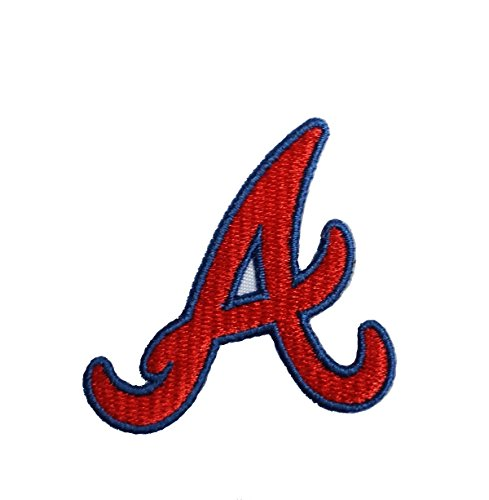 - Braves A Embroidered Sew/Iron On Patch InspireMe Family Owned (Small)