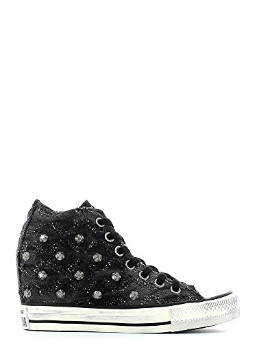 Femme Noir Converse 547196c All Star Hi Aigrette wxr1fqr