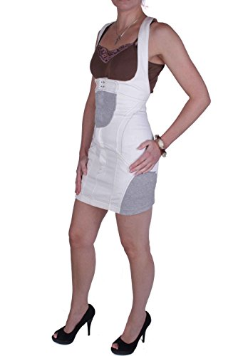 Diesel - Femmes Robe en Jeans Élastique Bretelles DS0402F