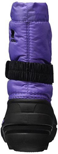 Sorel Kinder Childrens Flurry Schneestiefel Violett (Paisley Purple/black)