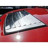 Upgrade Your Auto 9pc. Luxury FX Chrome Hood Vent