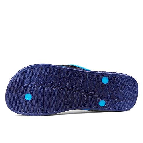sandali da donna per Blu Fangs da 2018 infradito spiaggia uomo classico Scarpe Infradito P0xdZxTqw