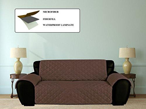 Furniture Fresh – Waterproof Microfiber Furniture Protector with Elastic Back Strap – Sofa