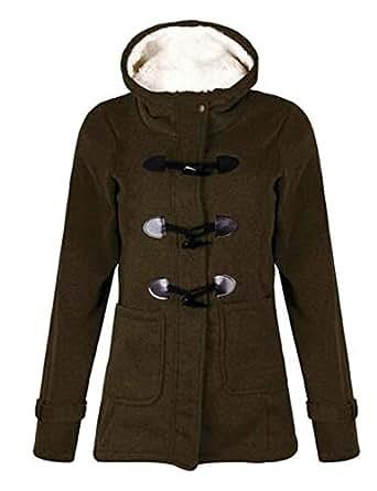 Amazon.com: Fensajomon Women Plus Size Winter Warm Hooded