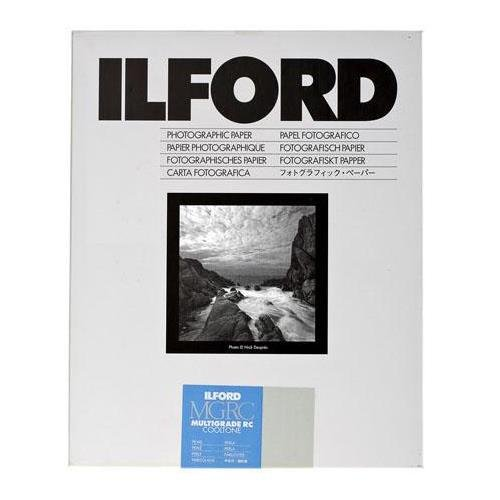 (Ilford Multigrade RC Cooltone Resin Coated VC Variable Contrast Black & White Enlarging Paper - 11x14