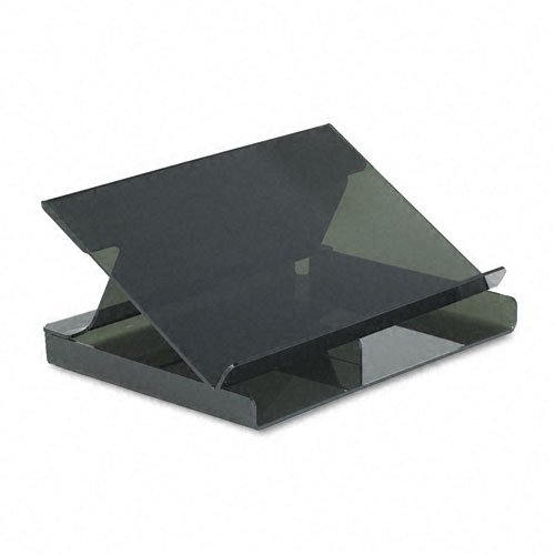 Day-Timer Acrylic Desk Stand for Desk or Journal-Size Loose-Leaf Planners, 11.63 x 8.75 x 5.38 Inches, Smoky Gray (D62150B)