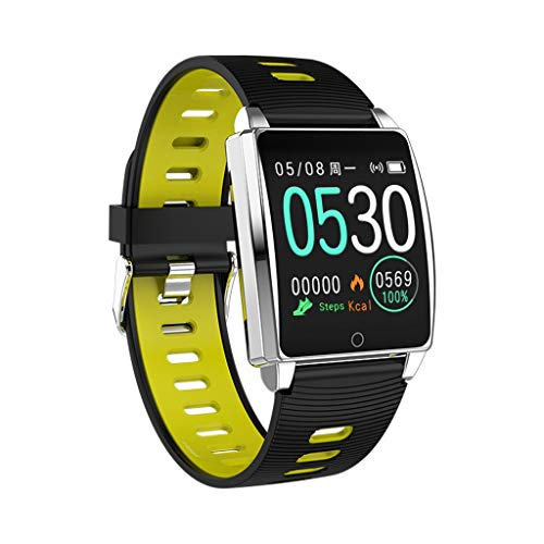 (Smart Watches for Men Android, YEZIJIN AK18 Heart Rate Blood Pressure Sleep Monitoring SmartWatch Pedometer Tracker for Father Men Student Youth Teens Boyfriend Lover's Birthday)