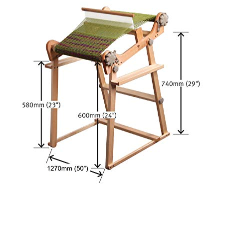 Rigid Heddle Loom & Stand Combo (48) by Ashford (Image #2)