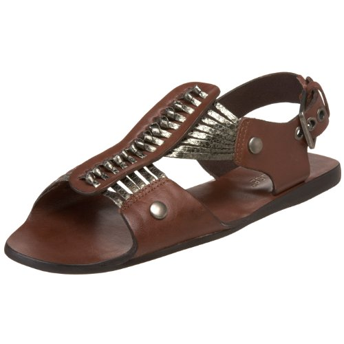 Matisse Women's Vincent Fisherman Sandal,Chocolate,8.5 M US