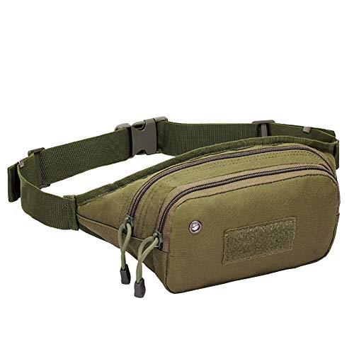 los Senderismo de de la auriculares ACU viaje con viajar bolsa bolsa agujero Bum de de Bolso el Bag Ejercitoverde para de Ciclismo camping la CqPd16wR