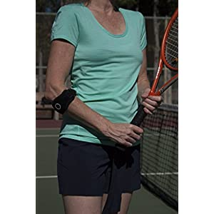 Tennis Elbow Brace--Best support and relief for pain and sore tendons while working, playing raquet sports, golf, weight lifting, and other exercises.