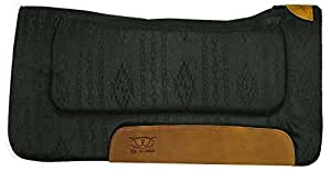 Weaver Leather 35-9303-H9 All Purpose Contoured Saddle Pad, 30 x 30-Inch, Black