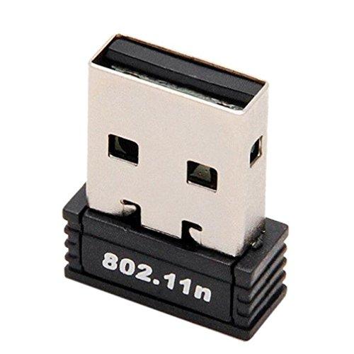 SOUFUN 1pc Mini Wireless 150Mbps USB Adapter WiFi 802.11n 150M Network Lan - Autorun Drive Usb