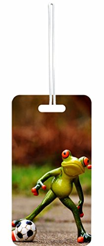 Froggie Rosie Parker Inc. Luggage Tag with Personalized Back ()