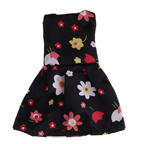 Jili Online Pretty Girl Doll Clothes FOR 14'' American Girl Princess Floral Dress Outfit Clothing Accessories