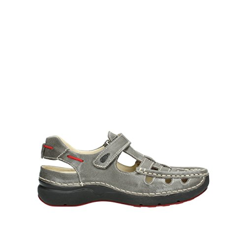 wolky Sandalias 7201Rolling Summer 30200 grey leather