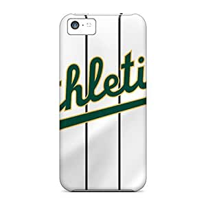 Anti-scratch And Shatterproof Oakland Athletics Phone Case For Iphone 5c/ High Quality Tpu Case