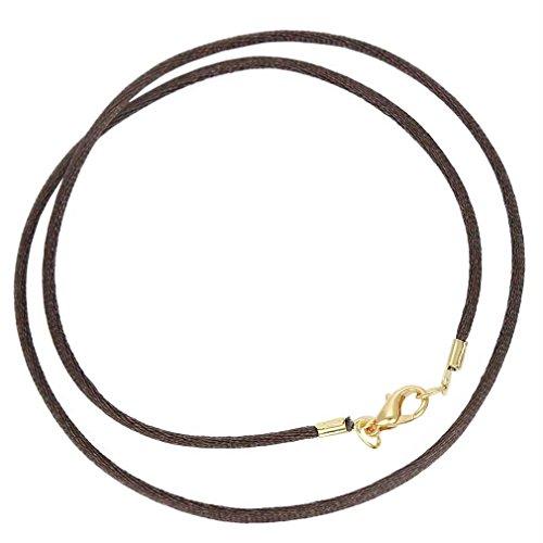 GlassOfVenice Silk Cord - Chocolate Brown