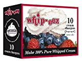 Whip-eez N2o Whip Cream Chargers - 100 chargers (10-10 packs)