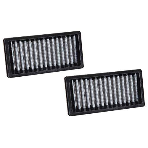Filter Ford Explorer - K&N VF1011 Washable & Reusable Cabin Air Filter Cleans and Freshens Incoming Air for your Ford Explorer, Flex, Taurus, Lincoln MKS