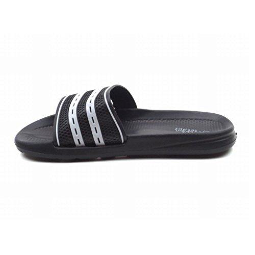 Slip M-clifford Bleu Pour Homme Sandales Pantoufles Confortable M-clifford-black / White