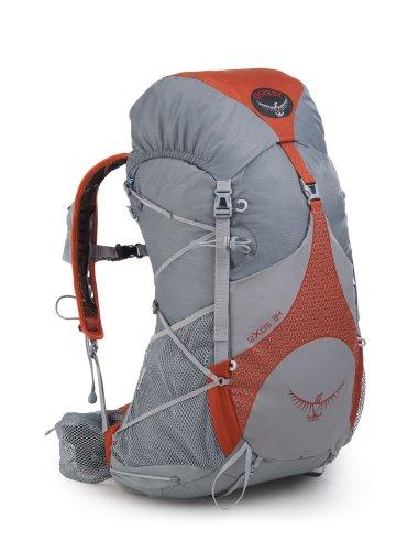 Osprey Exos 34 Backpack, Ember Orange, Medium, Outdoor Stuffs