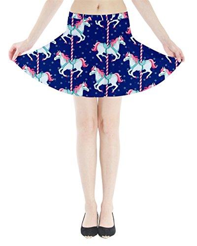 CowCow - Falda - para mujer azul marino