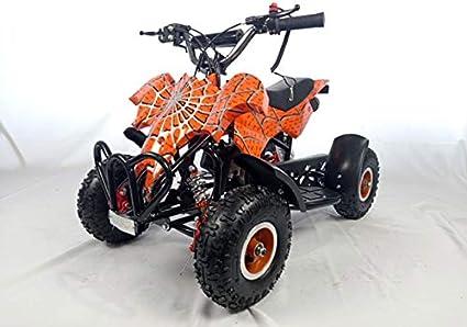 Mini quad de gasolina con motor de 49cc de 2 tiempos -ATV23 ...
